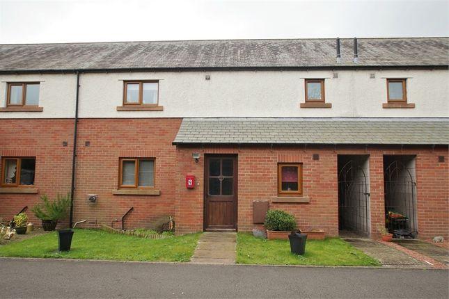 Thumbnail Terraced house for sale in Wheatsheaf Court, Abbeytown, Cumbria