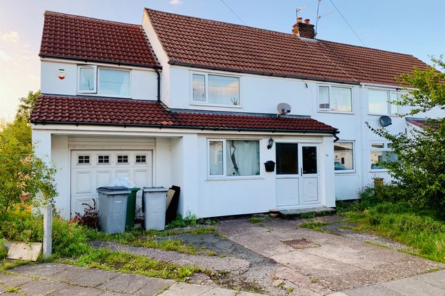 Thumbnail Semi-detached house for sale in Arborn Drive, Upton, Wirral