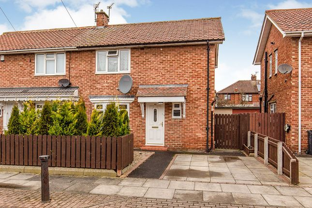 Thumbnail Semi-detached house for sale in Eden Crescent, Darlington, Durham