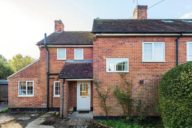 Thumbnail Semi-detached house for sale in Roden Cottages, Wallingford Road, Compton, Newbury