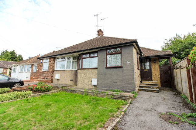 Thumbnail Semi-detached bungalow for sale in Harford Close, London