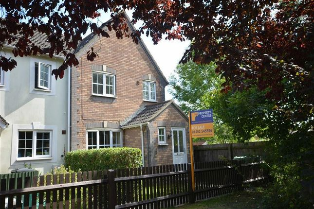 Thumbnail End Terrace House For Sale In Dart Close Quedgeley Gloucester