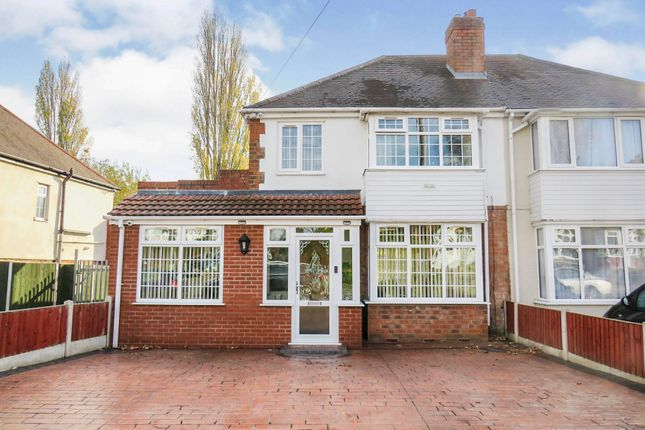 Thumbnail Semi-detached house for sale in Thetford Road, Great Barr, Birmingham