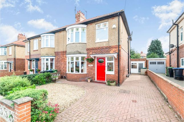 Thumbnail Semi-detached house for sale in Escomb Road, Bishop Auckland