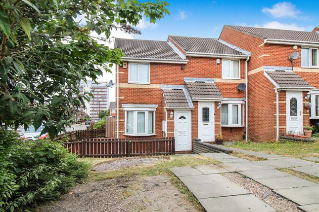 Thumbnail Terraced house to rent in High Meadows, Newcastle Upon Tyne