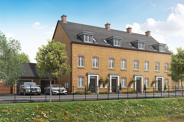 """End terrace house for sale in """"Greenwood"""" at Priorswood, Taunton"""