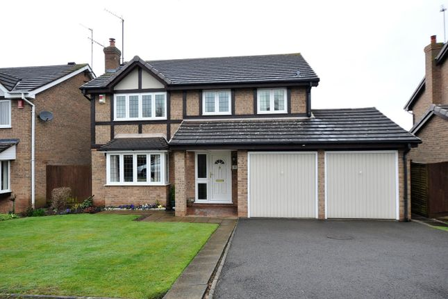 Thumbnail Detached house for sale in Greenvale Close, Burton-On-Trent