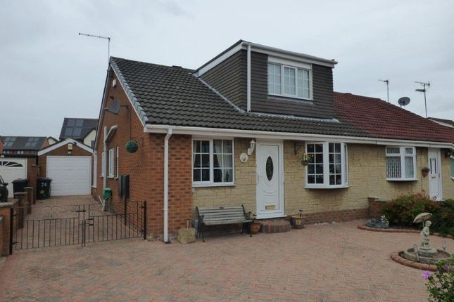 Thumbnail Semi-detached bungalow for sale in Standidge Drive, Bellfield Avenue, Hull
