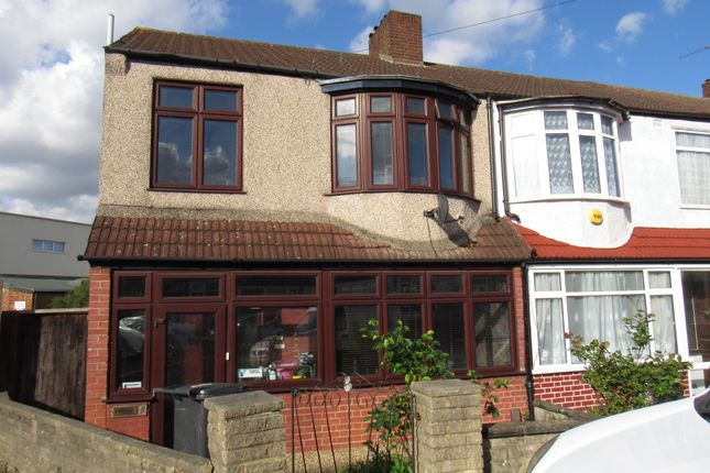 Thumbnail End terrace house for sale in Stafford Gardens, Croydon