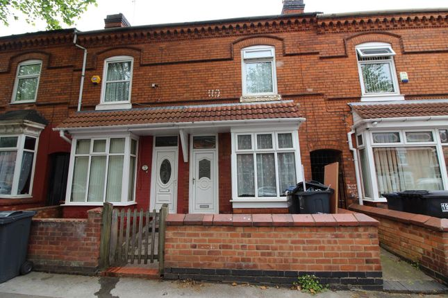 Thumbnail Terraced house to rent in Pretoria Road, Bordesley Green, Birmingham