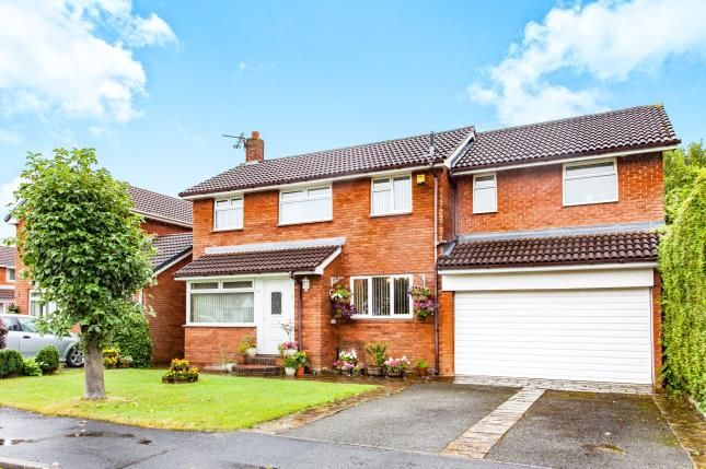 Thumbnail Detached house for sale in Keyes Close, Birchwood, Warrington, Cheshire