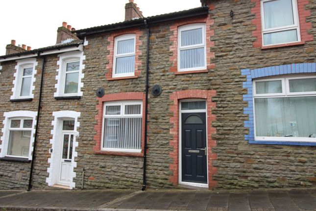 Thumbnail Terraced house for sale in William Street, Crumlin, Newport