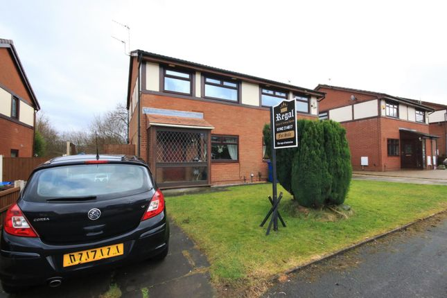 Thumbnail Semi-detached house for sale in Anthorn Road, Wigan