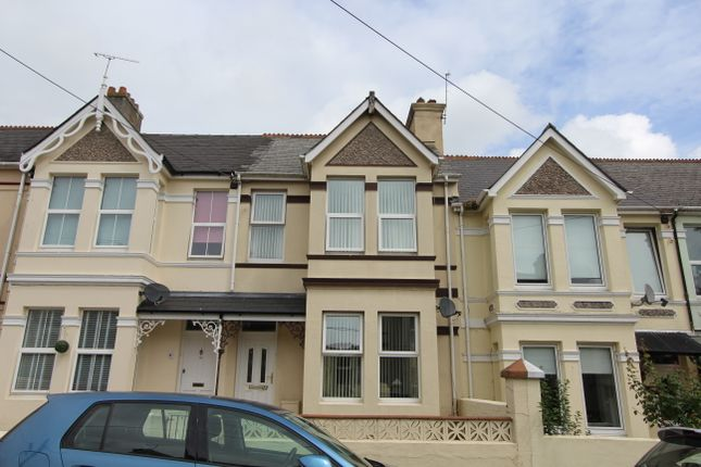 Thumbnail Terraced house to rent in Clarence Road, Torpoint