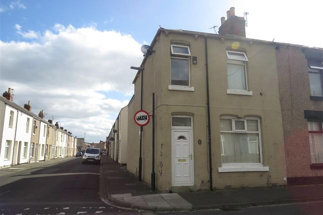 Thumbnail 3 bed end terrace house for sale in Cornwall Street, Hartlepool