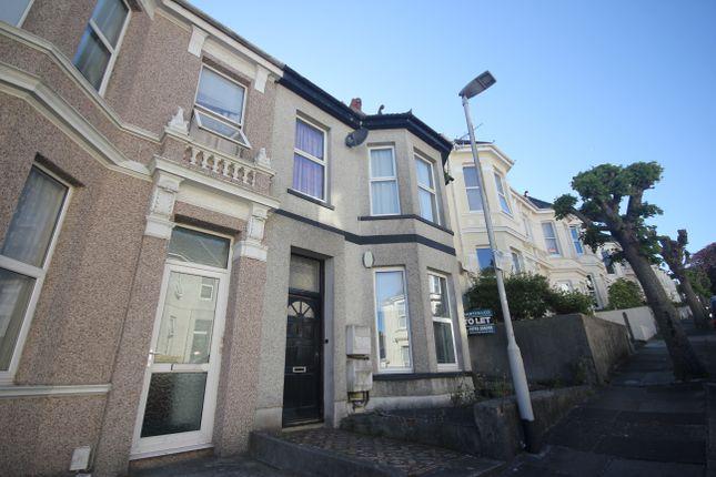Thumbnail Flat to rent in Diamond Avenue, Lipson, Plymouth