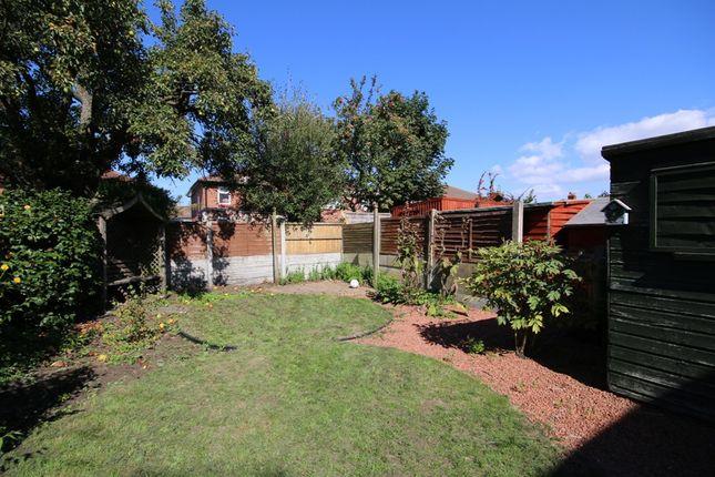 Rear Garden of Cobden Road, Southport PR9