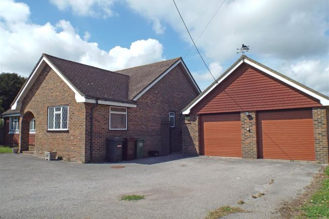 Thumbnail Detached bungalow to rent in Windmill Hill, Hailsham