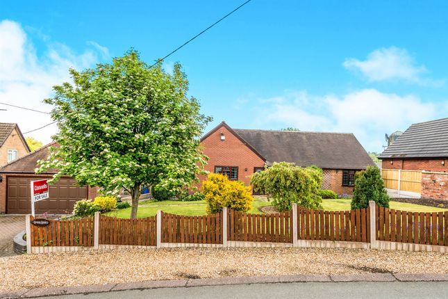 Thumbnail Detached bungalow for sale in Orchard Lane, Hyde Lea, Stafford
