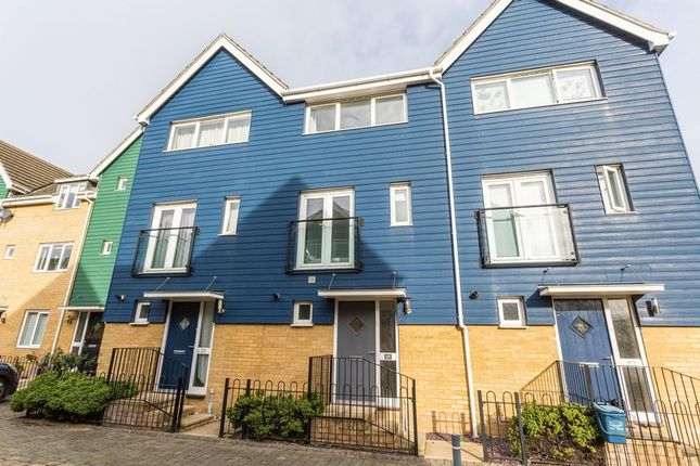 Thumbnail Terraced house to rent in Athena Close, Southend-On-Sea