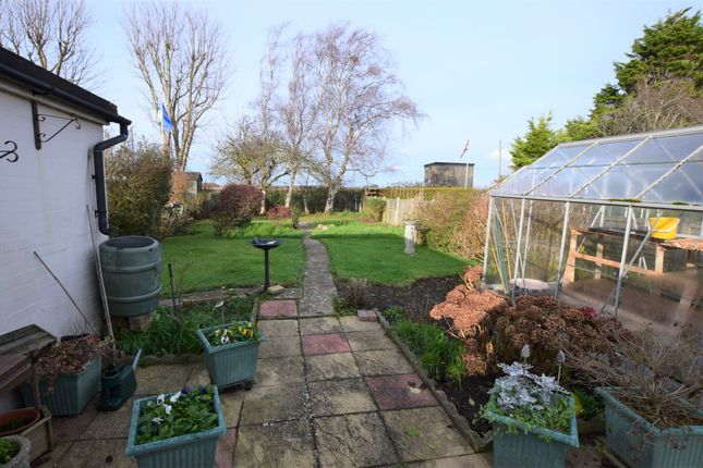 Rear Garden of Mountney Drive, Pevensey Bay BN24