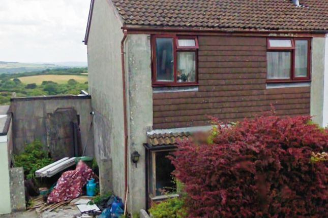Thumbnail Semi-detached house for sale in Pentrevah Road, Penwithick, St. Austell, Cornwall