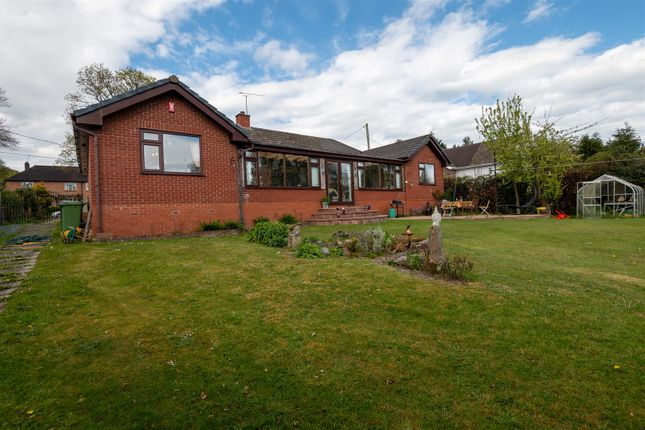 Thumbnail Detached bungalow for sale in Lower Road, Harmer Hill, Shrewsbury