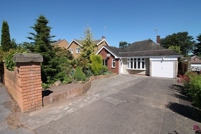 Thumbnail Detached bungalow to rent in Linwood Crescent, Ravenshead, Nottingham