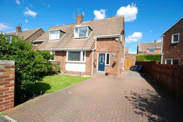 Thumbnail Semi-detached house for sale in Wheatall Drive, Whitburn, Sunderland