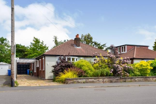 Thumbnail Bungalow for sale in Marina Drive, Marple, Stockport, Greater Manchester