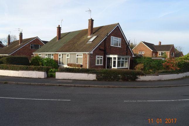 Thumbnail Bungalow to rent in Church Lane, Nuneaton