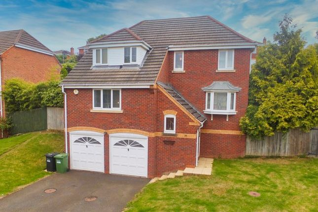 Detached house for sale in Wordsworth Drive, Market Drayton