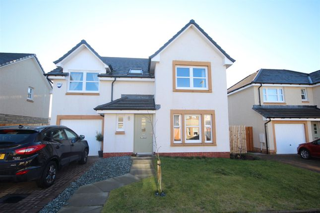 Thumbnail Detached house for sale in Franklin Drive, Motherwell