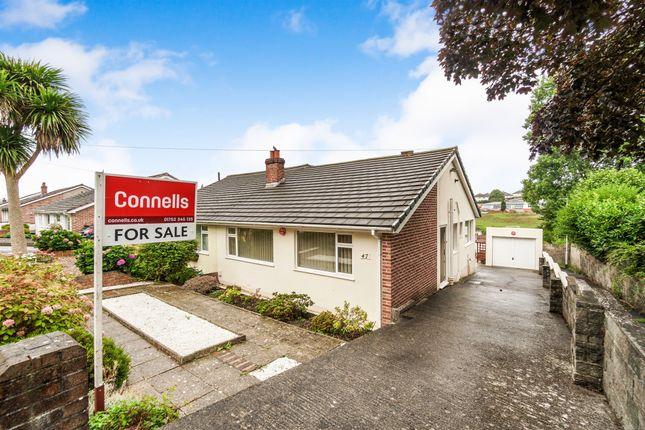 Thumbnail Semi-detached bungalow for sale in Larkham Lane, Plympton, Plymouth