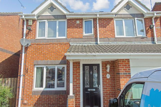 Thumbnail Detached house for sale in Ayton Court, Bedlington