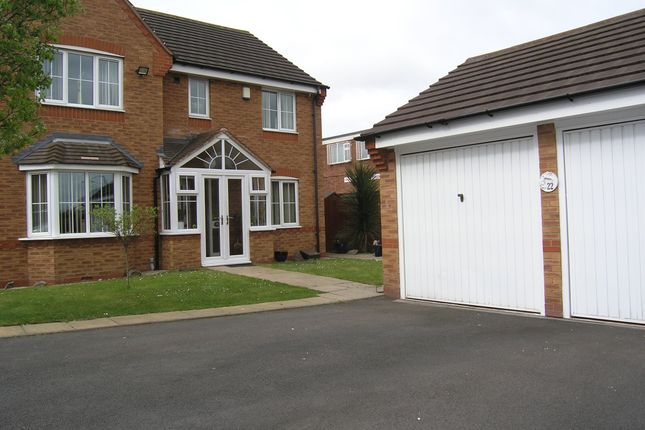Thumbnail Detached house for sale in Knights Close, Willenhall