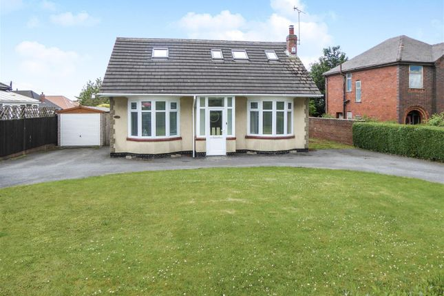 Thumbnail Detached bungalow for sale in Ashby Road, Woodville, Swadlincote