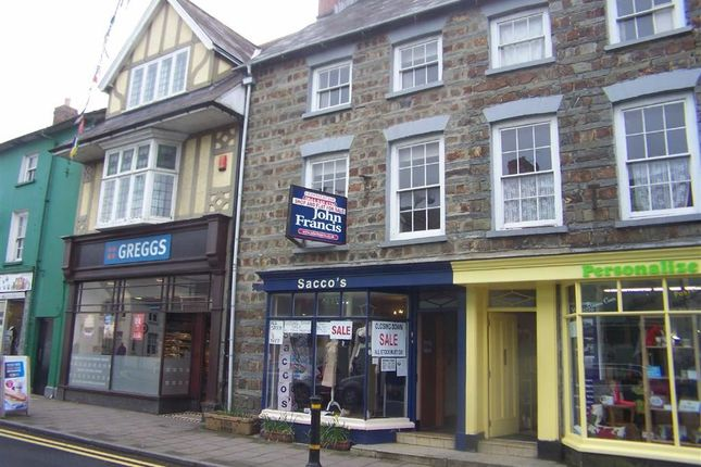 Thumbnail Retail premises for sale in Pendre, Cardigan, Ceredigion
