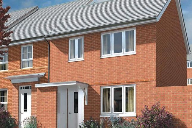 "2 bedroom end terrace house for sale in ""Opal"" at Captains Parade, East Cowes"