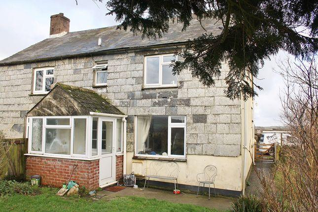 Thumbnail Semi-detached house to rent in Lewannick, Launceston
