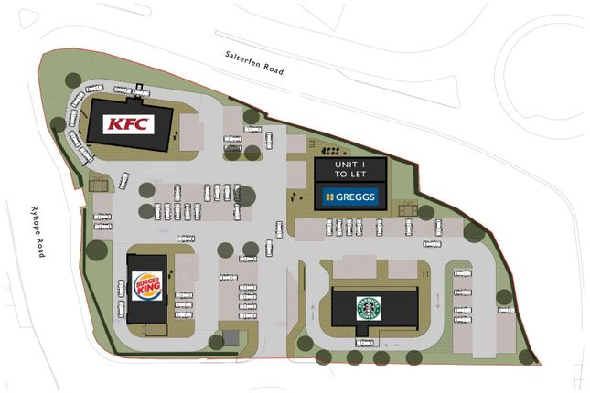 Thumbnail Retail premises to let in Unit 1 Salterfen Park, Salterfen Road, Sunderland