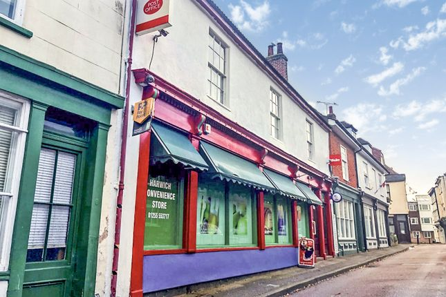 Thumbnail Retail premises for sale in Market Street, Harwich