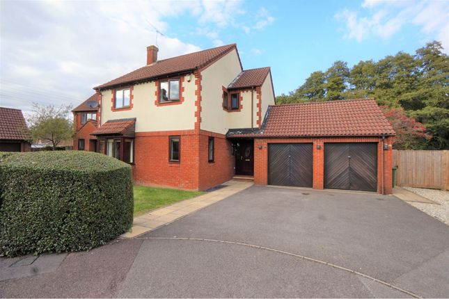 Thumbnail Detached house for sale in Keepers Close, Chandlers Ford, Eastleigh