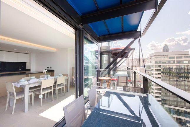 Thumbnail Flat to rent in Merano Residences, 30 Albert Embankment, London