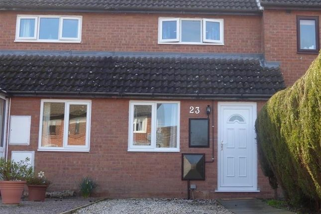 Thumbnail Terraced house to rent in Thomas Close, Hereford, Herefordshire