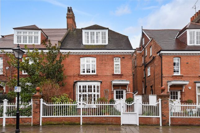 Thumbnail Semi-detached house for sale in Priory Avenue, Chiswick, London