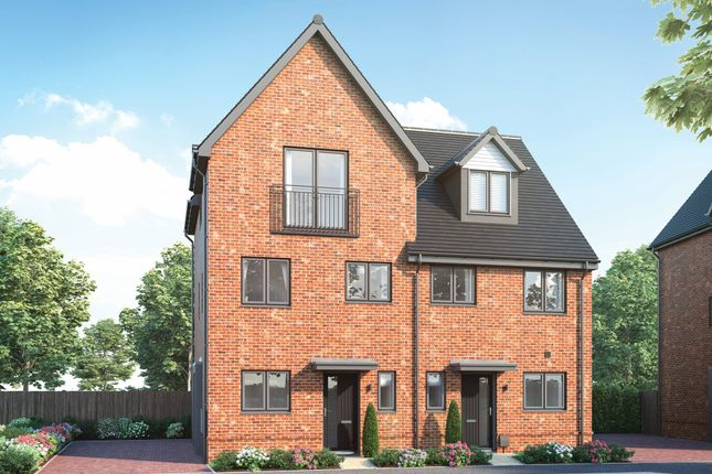 """Thumbnail Semi-detached house for sale in """"Ickwick"""" at Old Wokingham Road, Crowthorne"""