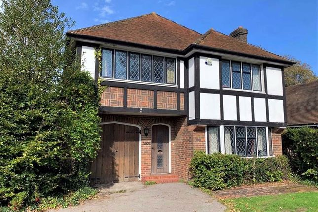 Thumbnail Detached house for sale in Third Avenue, Charmandean, Worthing, West Sussex