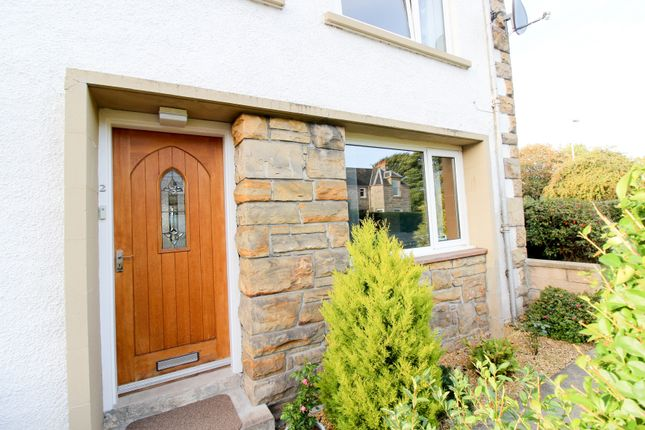 Thumbnail End terrace house for sale in St. Laurence Court, Forres