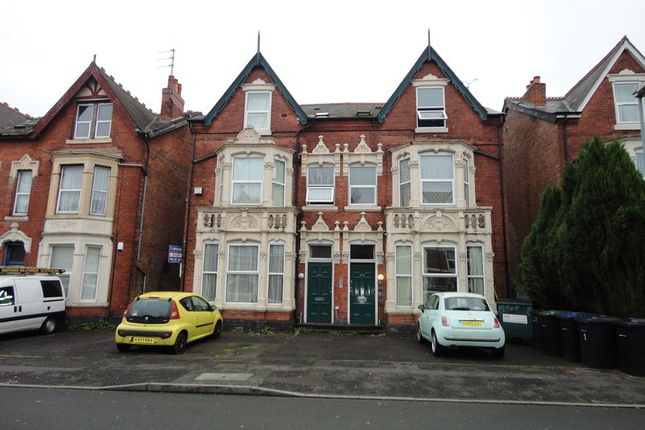 Thumbnail Block of flats for sale in Gillott Road, Edgbaston, Birmingham